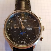 Maurice Lacroix Les Classiques Chronographe LC6078-SS001-33E Zeer goed Staal 41mm Automatisch Nederland, Oterleek