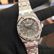 Audemars Piguet Royal Oak Selfwinding Steel 37mm Grey No numerals