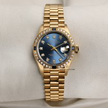 Rolex Yellow gold Automatic 26mm pre-owned Lady-Datejust