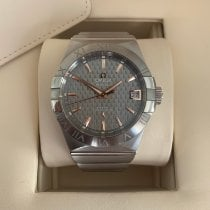 Omega Constellation Men Steel 38mm Grey No numerals United Kingdom, Dundee