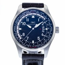 IWC Pilot Worldtimer Steel 45mm Black United States of America, Georgia, Atlanta