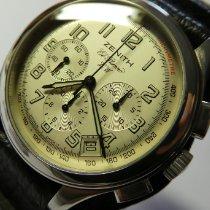 Zenith El Primero Chronograph Acero 40mm Plata Arábigos