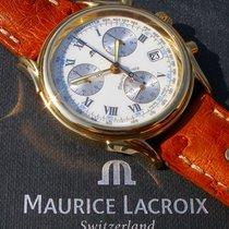 Maurice Lacroix Gold/Stahl 38mm Quarz 04663 gebraucht Deutschland, Meißen