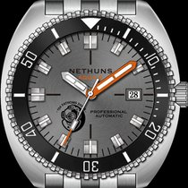 Nethuns Stahl 44mm Automatik A2S303 Nethuns Aqua II neu