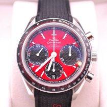 Omega Speedmaster Racing Steel 40mm Red No numerals United States of America, Illinois, Plainfield