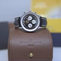 Breitling Navitimer 01 Сталь 43mm Черный Aрабские
