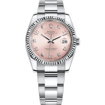Rolex Oyster Perpetual Date new 2021 Automatic Watch with original box and original papers 115234-0009