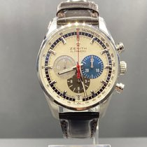 Zenith El Primero 36'000 VpH new 2021 Automatic Chronograph Watch with original box and original papers 03.2040.400/69.C494