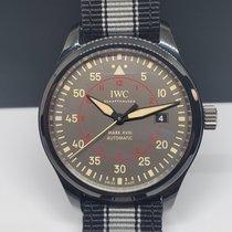 IWC Ceramic Automatic Grey Arabic numerals 41mm pre-owned Pilot Mark