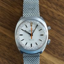 Omega Genève Steel 35mm White No numerals United States of America, Illinois, Chicago