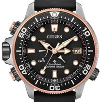 Citizen Promaster Marine Steel 46mm Black No numerals United States of America, New York, Bellmore