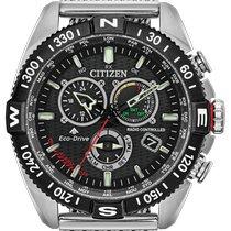 Citizen Promaster Sky Steel 46mm Black No numerals United States of America, New York, Bellmore