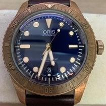 Oris Carl Brashear 01 733 7720 3185-Set LS Very good Bronze 42mm Automatic Singapore