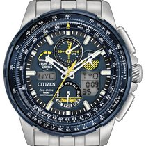 Citizen Promaster Sky Steel 47mm Blue No numerals United States of America, New York, Bellmore