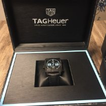 TAG Heuer Carbon Automatic Black No numerals 39mm pre-owned Monaco