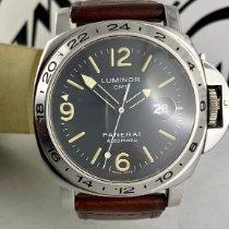 沛納海 Luminor GMT Automatic 鋼 44mm 黑色