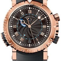 Breguet Marine Rose gold 45mm Brown Roman numerals United Kingdom, London