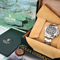 Rolex Daytona Steel 40mm Black No numerals UAE, Dubai