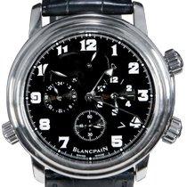 Blancpain Léman Réveil GMT 2041-1130M-53B Odlično Zeljezo 40mm Automatika