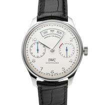 IWC Portuguese Annual Calendar nuevo Automático Reloj con documentos originales IW503501