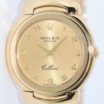 Rolex Cellini Желтое золото 33mm Золотой Aрабские