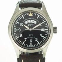 IWC Pilot Spitfire UTC Acero 39mm Negro Arábigos