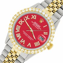 Rolex Datejust Steel 36mm Red United States of America, New York, New York