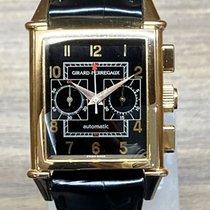 Girard Perregaux Vintage 1945 Oro rosa 30mm Negro Arábigos