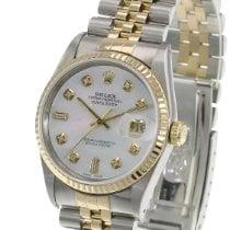 Rolex Datejust Gold/Steel 36mm White United States of America, California, Sherman Oaks