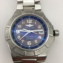 Breitling Colt GMT+ Steel Blue Arabic numerals