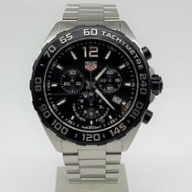 TAG Heuer Formula 1 Quartz Steel 43mm Black Arabic numerals