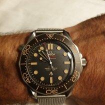 Omega Seamaster Diver 300 M Titane Noir Sans chiffres France, Paris