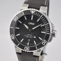 Oris Aquis Date Steel 43.5mm Black United States of America, Ohio, Mason