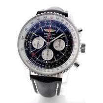 Breitling Navitimer GMT Steel 48mm Black Arabic numerals