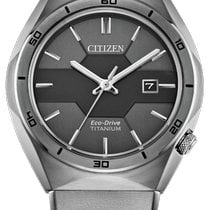 Citizen Titanium 41mm Grey No numerals United States of America, New York, Bellmore