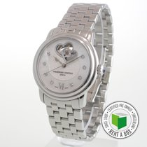 Frederique Constant Ladies Automatic Double Heart Beat pre-owned 35mm Steel