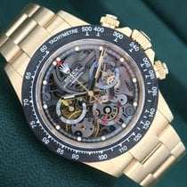 Rolex Daytona Or jaune Transparent