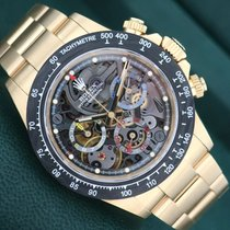 Rolex Daytona 116508 LA MONTOYA Very good Yellow gold Automatic