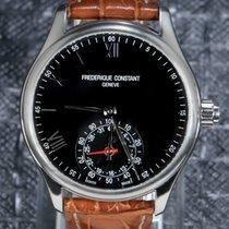 Frederique Constant Horological Smartwatch Acier 42mm Noir Romains