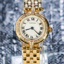 Cartier Oro giallo 24mm Quarzo 8057916 usato