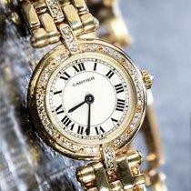 Cartier Panthère Yellow gold 24mm White Roman numerals