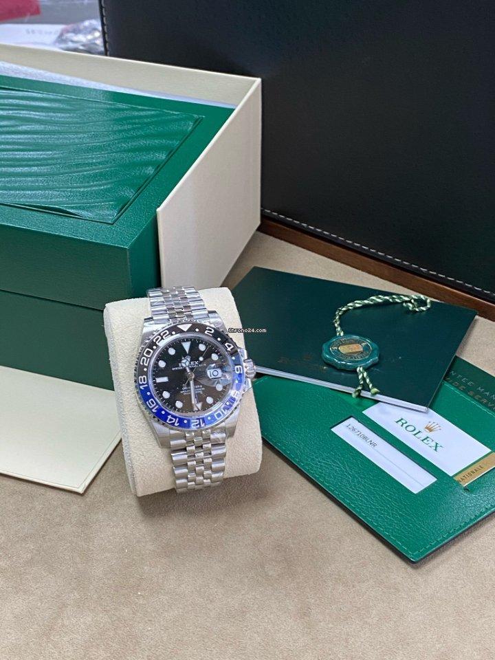 Rolex GMT-Master II 126710BLNR nou
