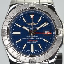 Breitling Avenger II GMT Steel 43mm Blue No numerals United States of America, California, Stockton