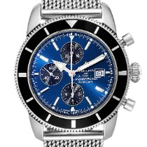 Breitling Superocean Héritage Chronograph pre-owned 46mm Blue Chronograph Date Steel