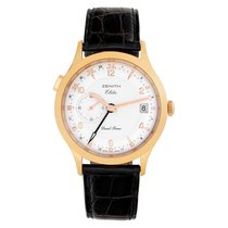 Zenith Elite Rose gold 39mm Silver Arabic numerals United States of America, Florida, Surfside