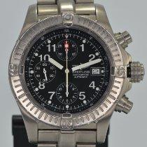 Breitling Titanium Automatic Black Arabic numerals 44mm pre-owned Avenger