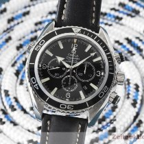 Omega Seamaster Planet Ocean Chronograph Zeljezo 45.5mm Crn
