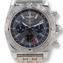 Breitling Chronomat 44 GMT Acier 44mm Gris