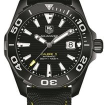 TAG Heuer Titanium Automatic Black 41mm new Aquaracer 300M