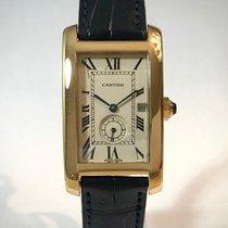 Cartier Tank Américaine Gelbgold 24mm Weiß Schweiz, Chiasso